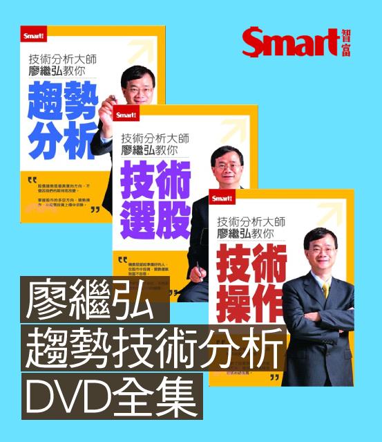 訂閱一年贈送廖繼弘趨勢技術分析DVD全集